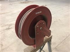 Retractable Hose Reel With Hose
