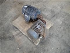 Teco 10 Hp 3 Phase Electric Motor