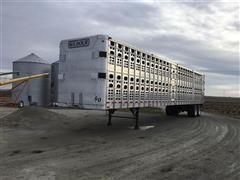 1998 Wilson PSAL-303P 53' T/A Livestock Trailer