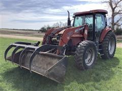 Case IH MXU135 MFWD Tractor W/Loader