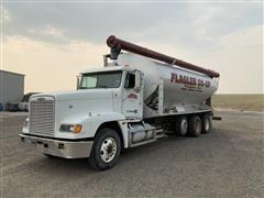 2000 Freightliner FLD120 Tri/A Bulk Feed Truck