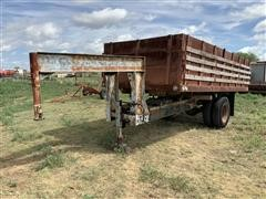 Shop Built Dump Trailer