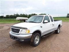 2001 Ford F150 4x4 Extended Cab Pickup