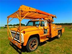 1976 Ford F700 S/A Bucket Truck