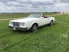 1985 Buick Riviera Convertible Car