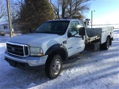 2002 Ford F550XLT 2WD Service Truck