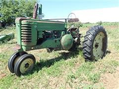 1947 John Deere A Narrow Front 2WD Tractor