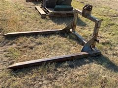 Homemade 3-Point Round Bale Mover