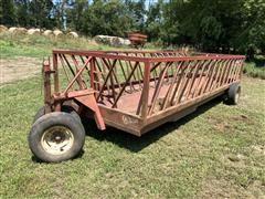 Apache Livestock Hay Feeder Wagon