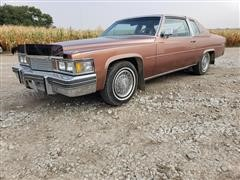 1979 Cadillac Coupe DeVille 2 Door Sedan