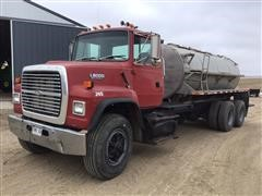 1992 Ford L8000 T/A Liquid Fertilizer Tender Truck