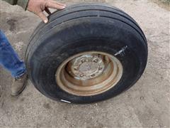 9.5L-14 Tire W/6 Bolt Rim