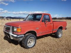 1987 Ford F150 4x4 Short Bed Pickup