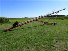 """Feterl 8""""X60' Auger W/10 HP Single Phase Electic Motor (230 Volt)"""