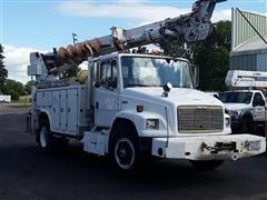 1998 Freightliner FL 70 Digger Derrick Truck