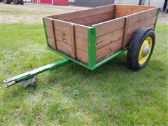 Shop Built Box Wagon W/Removable Ends