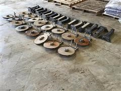 Groff Ag 2X2 Fertilizer Discs And Brackets