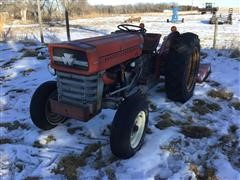 1973 Massey Ferguson 135 2WD Compact Tractor W/Attachments