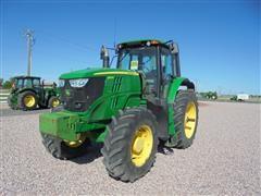 2014 John Deere 6170M MFWD Tractor
