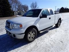 2008 Ford F150 XLT Extended Cab Short Box 4x4 Pickup