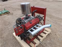Chevrolet 454 Engine On Stand