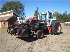 1978 Case IH 1070 2WD Tractor W/Koyker K5 Loader