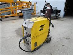 ESAB Mig Master MM250 Wire Welder W/Wire Feed & Gas Tank