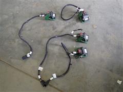 John Deere Bauer DB90 SeedStar XP Sensor Node W/Mounting Bracket