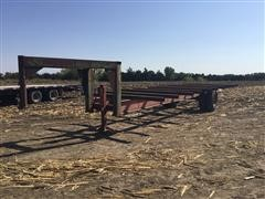 Shop-Built Gooseneck Hay Trailer