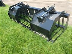 2019 Brute Rock/Brush Grapple Skid Steer Attachment