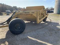 Garfield 1150 Pull Type Scraper