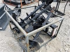 2017 Suihe Skid Steer Auger W/3 Sized Augers