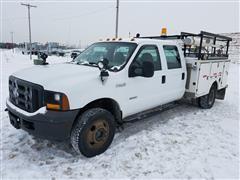 2005 Ford F-350 XL Super Duty 4x4 Crew Cab Utility Pickup