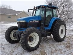 1995 Ford New Holland 8670 MFWD Tractor