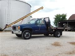 1999 GMC 3500 Flatbed Dually  Truck