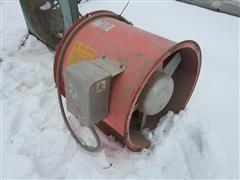 Caldwell F24-512 Inline Centrifugal Fan