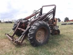 Allis Chalmers Reversed WC 2WD Tractor w/Loader For Parts