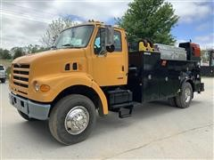 2000 Sterling L7500 4x2 Mechanics Truck W/ Crane, Welder & Compressor