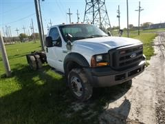 2007 Ford F-550 Cab & Chassis