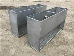 Stainless Steel 5' Heavy Duty Livestock Feeders