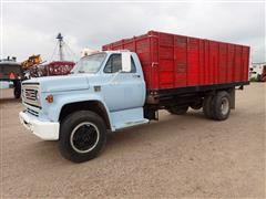 1973 Chevrolet C65 S/A Truck W/18' Box, Hoist And 1600 Gallon Tank