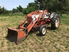 1955 Ford 860 2WD Antique Tractor W/Loader