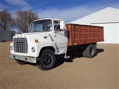 1973 Ford 600 S/A Rear Dump Grain Truck