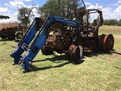 2009 New Holland T7040 Tractor W/Loader (Salvage)