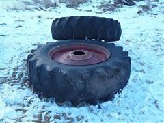 9 Bolt Dual Rims & Tires