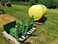 Agri-Products 300-Gal Front Mount Saddle Tank And Brackets