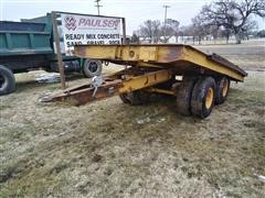 Martin Machine T/A Flatbed Trailer