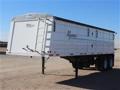 2015 Maurer Single Hopper T/A Grain Trailer
