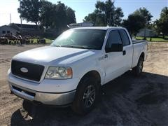 2006 Ford F150 Extended Cab Short Bed 4x4 Pickup