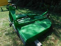 John Deere 709 Shredder